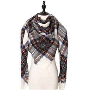 Accessories - NWT Plaid Blanket Scarf Wrap